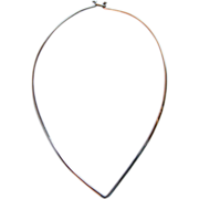 Sterling Necklace or Choker for Pendant