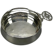 "Blackinton Antique Sterling Porringer, monogram ""M"""