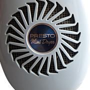 Vintage Powder Blue Presto Mini Hair Dryer, Model PP200
