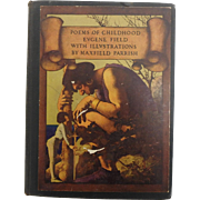 Poems of Childhood Eugene Field illustrated by Maxfield Parrish  1st Edition