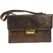 Vintage Genuine Alligator Handbag