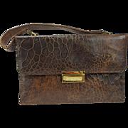 Vintage Genuine Turtle Skin Handbag