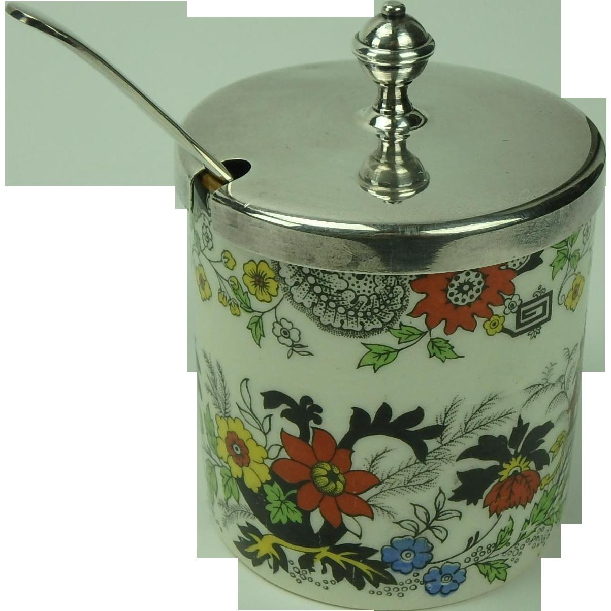 Vintage Jam Jar 117
