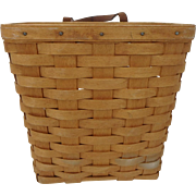 Vintage Longaberger Large Wall Hanging Basket