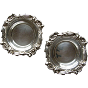 Silver Butter Pats, Peru, 900/1000