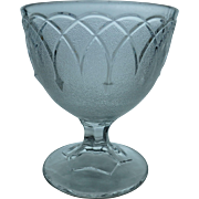 EAPG Loop and Dart Open Sugar Buttermilk Goblet