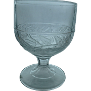 EAPG Antique Bellflower Pattern Buttermilk, Goblet or Open Sugar