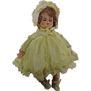 Vintage Madame Alexander Little Genius Baby Doll