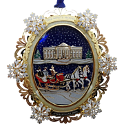 White House Historical Association Christmas Ornament 2004, President Hayes, MIB