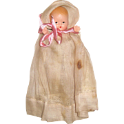 Nancy Ann Storybook Doll Bisque Hush-a-bye Baby with Movable Limbs and Star Hands