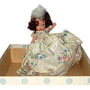 Nancy Ann Storybook Bisque Storybook Doll in Original Box - Beauty, from Beauty and the Beast #156