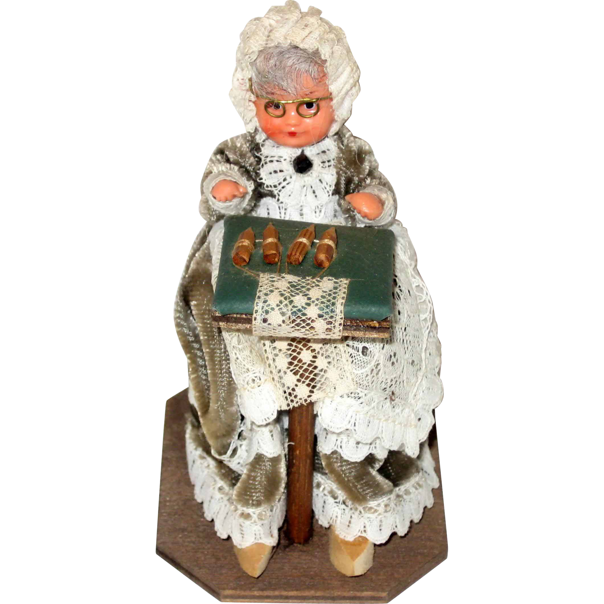 Belgian Lacemaker Doll - 1965