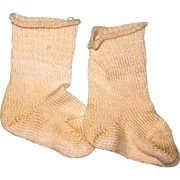 "Cotton Knit Doll Socks for 15"" Doll"