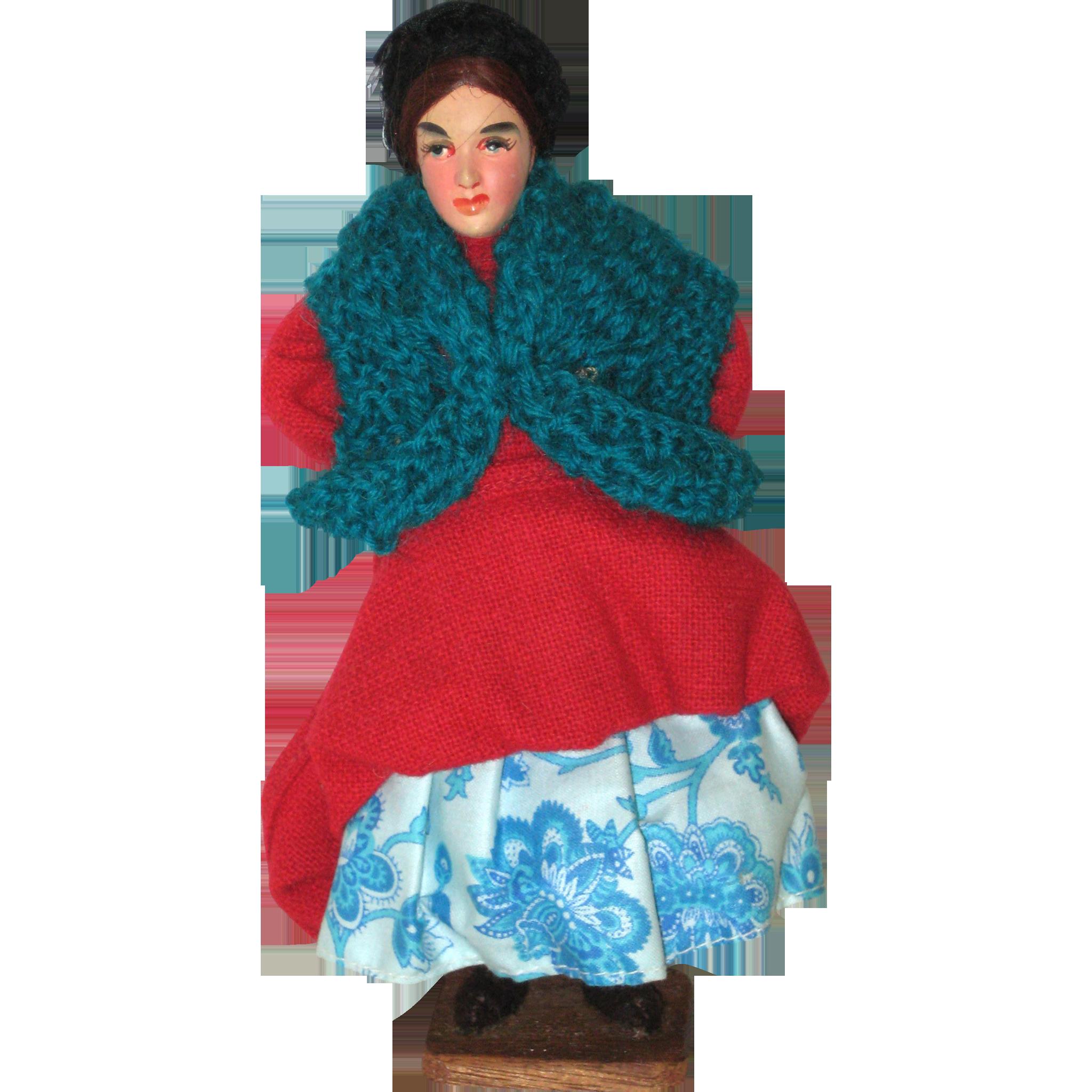 Jay of Dublin Irish Character Doll W5/6 - Sligo Woman