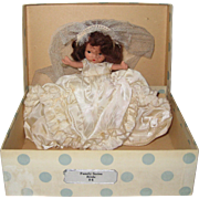 Vintage Nancy Ann Storybook Family Series Bride Doll #86 Bisque, Original Box