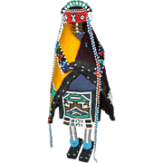 Large Unusual Hopi Kachina Dancer Figure 1978