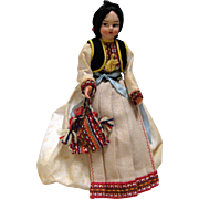 Vintage Doll from Yugoslavia 1978