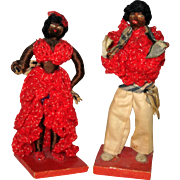 Cuban Mambo Dancer Dolls - 1937