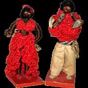Cuban Mambo Dancer Dolls - 1937