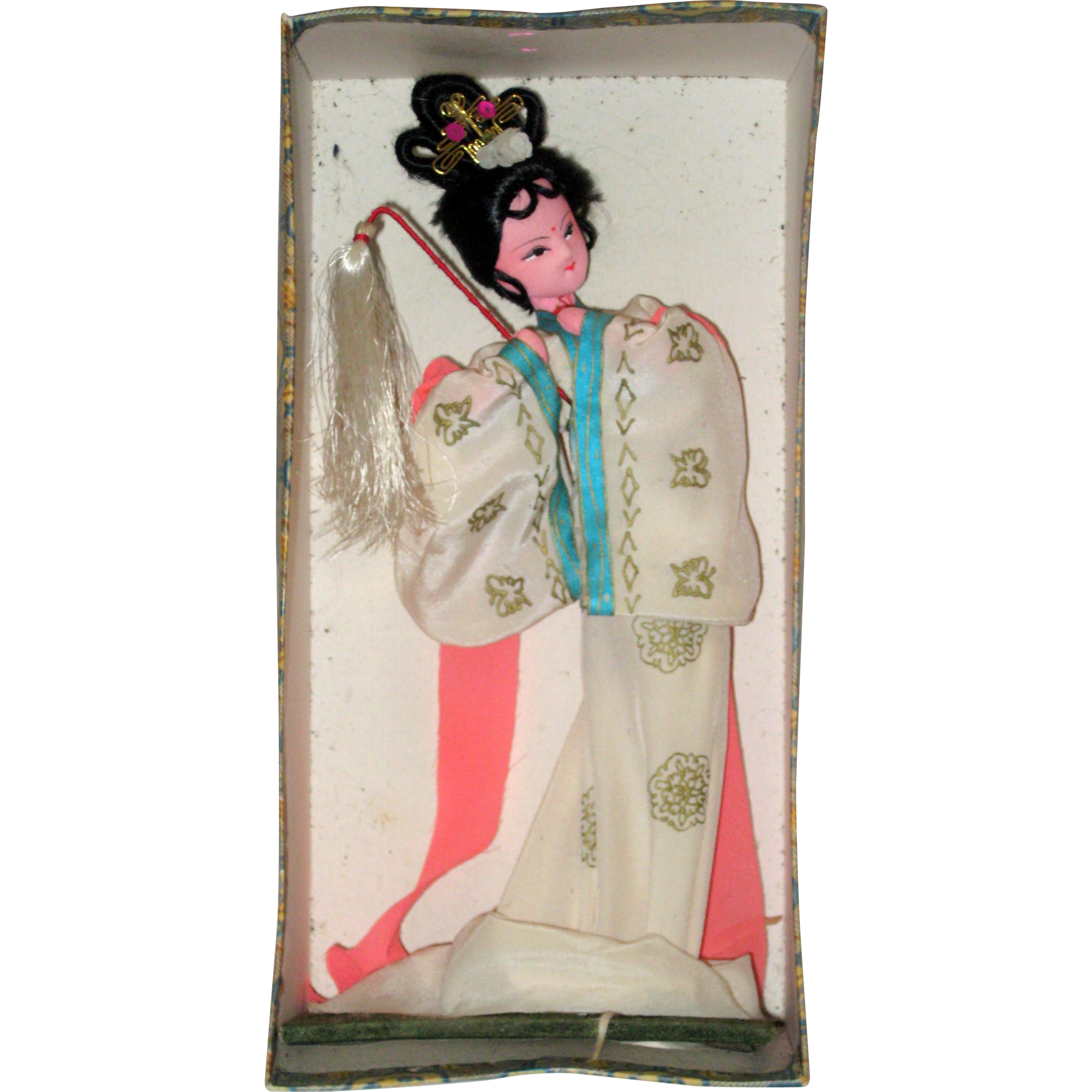 Chinese Dancer Doll in Original Box - Beijing 1970's