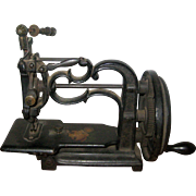 Antique New England Cast Iron Sewing Machine - circa 1860 - 1870