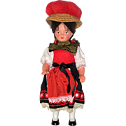 1960's German Black Forest Souvenir Doll