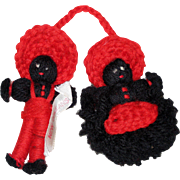 1940's African American Yarn Dolls - Souvenir of New Orleans