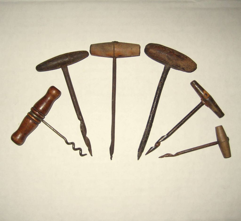 Six Carpenter's Tools from the 18th and Early 19th Centuries