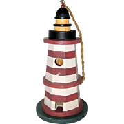 Decorative Wooden Lighthouse Birdhouse