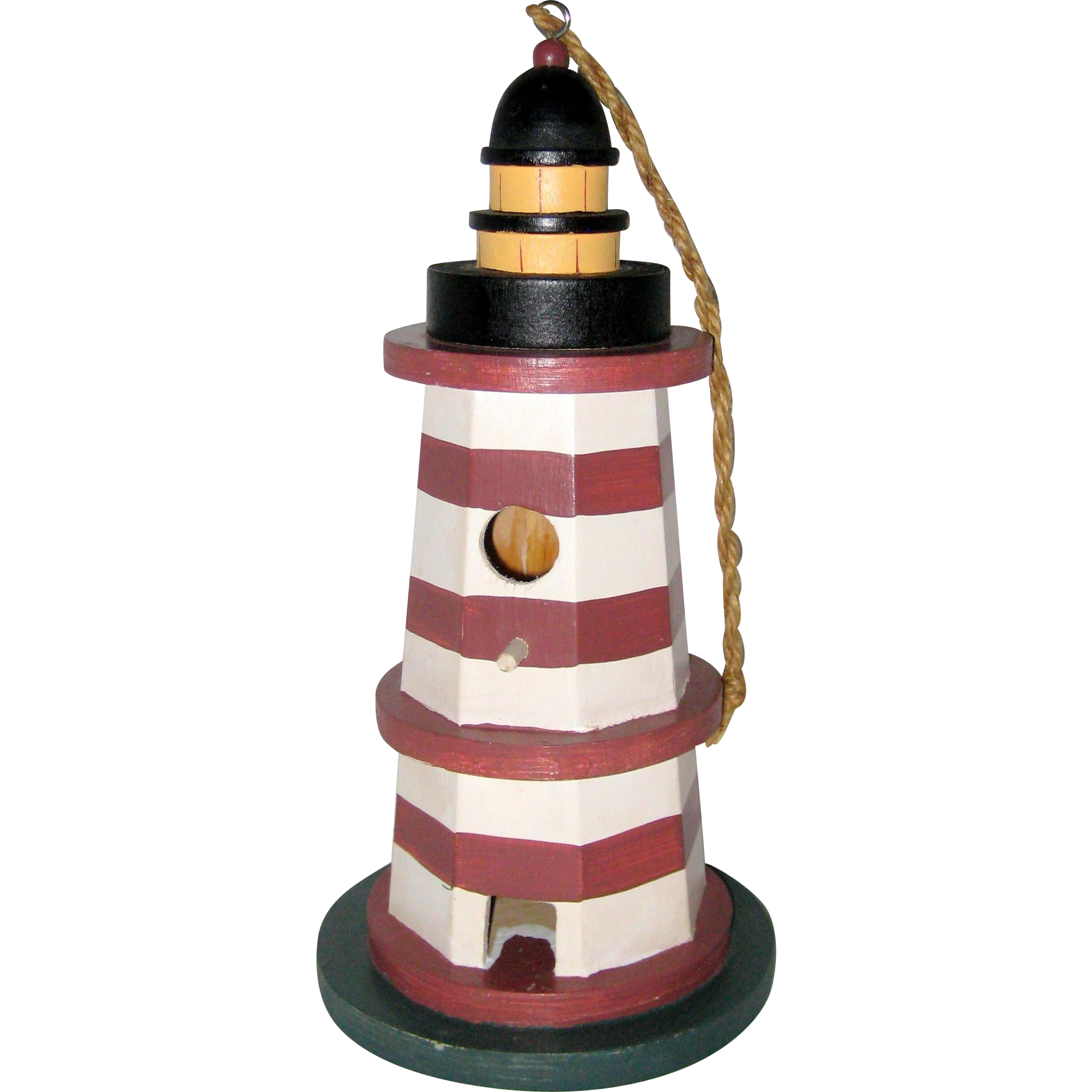 Decorative Wooden Lighthouse Birdhouse