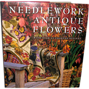 Needlework Antique Flowers - Elizabeth Bradley 1993 - Red Tag Sale Item