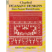 Charted Peasant Designs from Saxon Transylvania (Dover Embroidery, Needlepoint) Paperback – 1977 by Heinz E. Kiewe