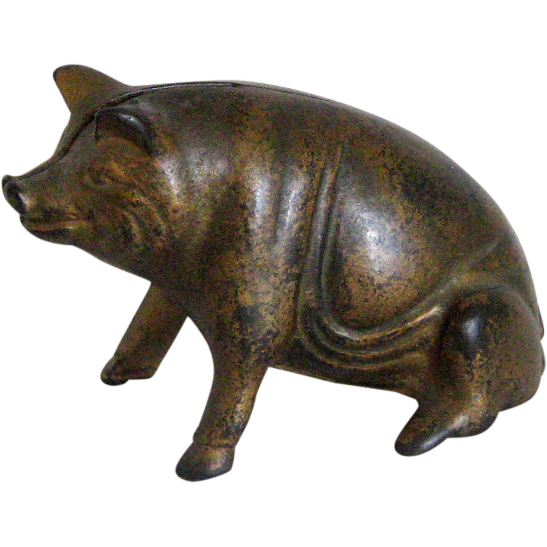 A. C.Williams Cast Iron Pig Still Bank