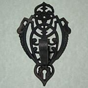 Cast Iron Wall Hook or Hanger - Late 1800's