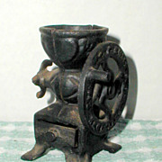 R. F. Smale Miniature Cast Iron Coffee Mill