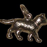 Sterling Silver Cat or Kitten Charm