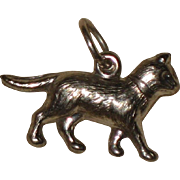 Sterling Silver Cat or Kitten Charm