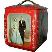 1953 Queen Elizabeth Coronation Biscuit Tin