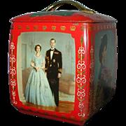 1953 Queen Elizabeth Coronation Biscuit Tin