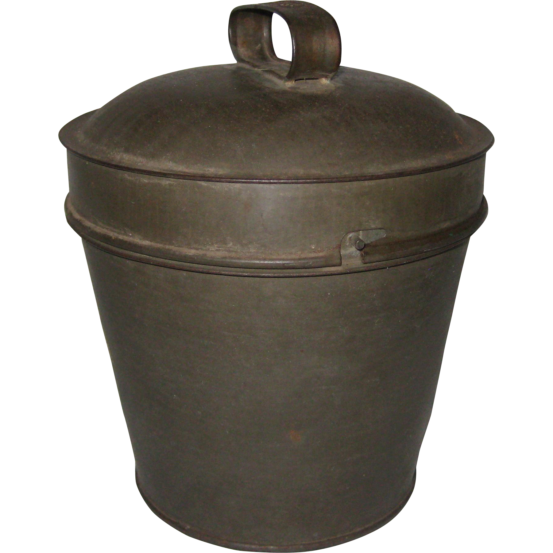 Fries Steamed Pudding Mold - Tinned