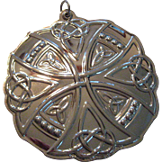 Towle Sterling Silver Celtic Christmas Ornament 2013