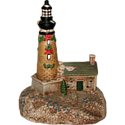 Ceramic Lighthouse Decoration or Night Light - Lights Up!