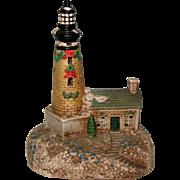 Ceramic Lighthouse Decoration or Night Light - Lights Up!