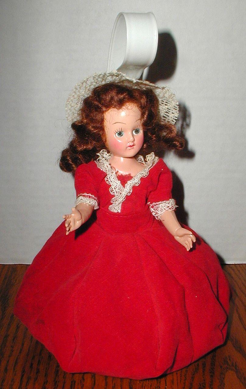 1950's Little Girl's Doll Purse