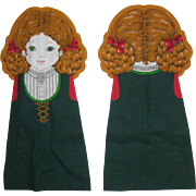 Gretel - A Storybook Doll - Printed Fabric Doll Pattern from Cranston Print Works