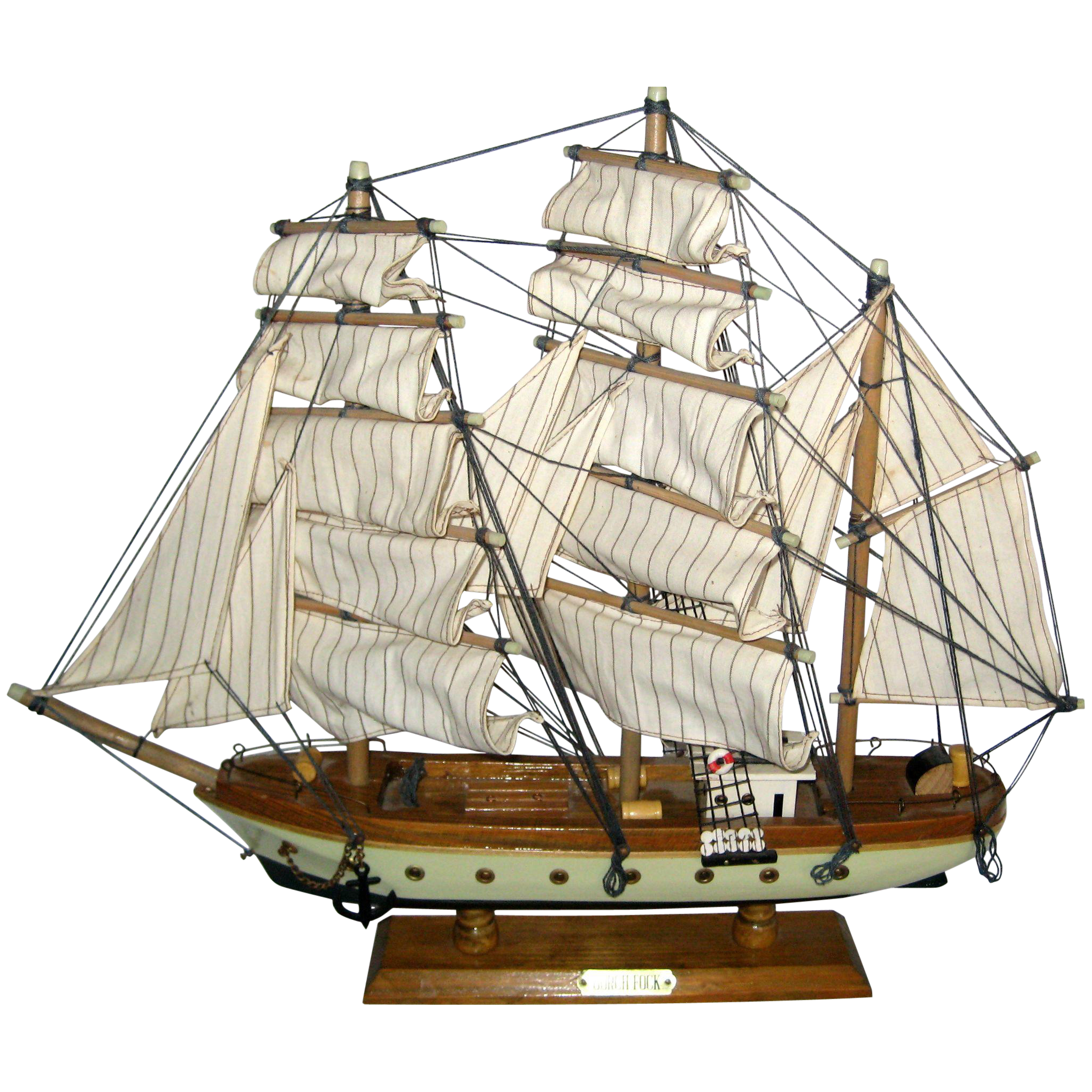 Old Fashion Sail Boat