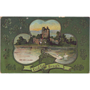 St. Patrick's Day Postcard - Ross Castle, Killarney