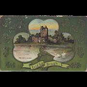 St. Patrick's Day Postcard - Ross Castle, Killarney
