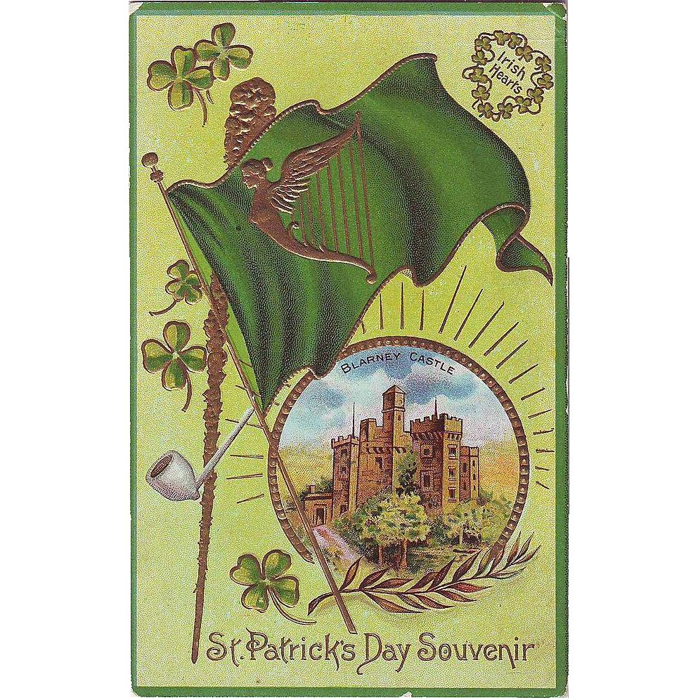 St. Patrick's Day Postcard - Blarney Castle