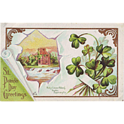 St. Patrick's Day Postcard - Holy Cross Abbey Tipperary